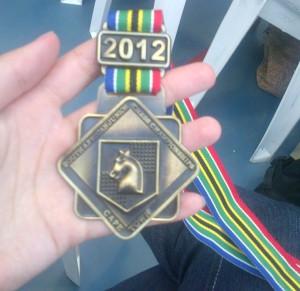 Marilie's Gold Medal